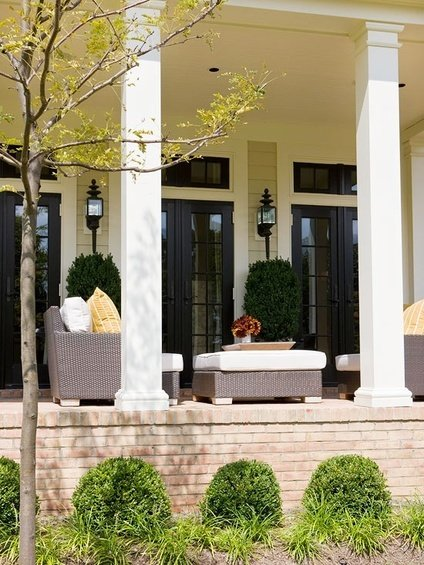 Фотография: Балкон, Терраса в стиле Прованс и Кантри, Классический, Скандинавский, Современный – фото на INMYROOM