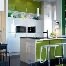 Фотография: Кухня и столовая в стиле Современный, Хай-тек, Декор интерьера, Мебель и свет – фото на InMyRoom.ru