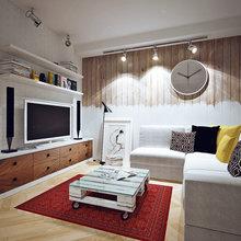 Фото из портфолио Квартира в Москве ,65 м.кв. – фотографии дизайна интерьеров на InMyRoom.ru