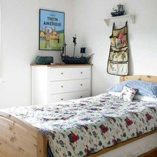 Фотография: Спальня в стиле Скандинавский, Детская, Интерьер комнат – фото на InMyRoom.ru