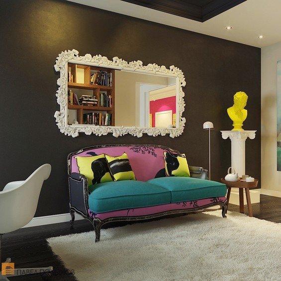 Фотография:  в стиле , Квартира, Россия, Дома и квартиры, Поп-арт, Санкт-Петербург – фото на InMyRoom.ru