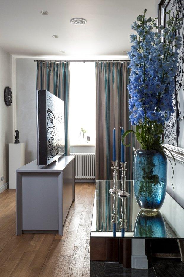 Фото из портфолио Синяя квартира – фотографии дизайна интерьеров на INMYROOM