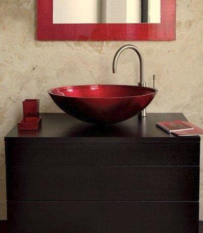 Фотография: Ванная в стиле Минимализм, Декор интерьера, Квартира, Декор, Советы, раковина, раковина в ванной – фото на InMyRoom.ru