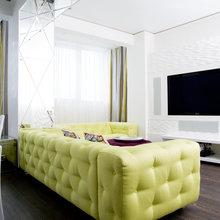 Фото из портфолио Квартира 210 метров. Игра цвета – фотографии дизайна интерьеров на INMYROOM