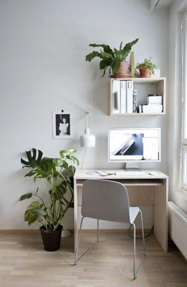 Фотография: Кабинет в стиле Скандинавский, Советы, уборка квартиры, как избавиться от пыли – фото на InMyRoom.ru