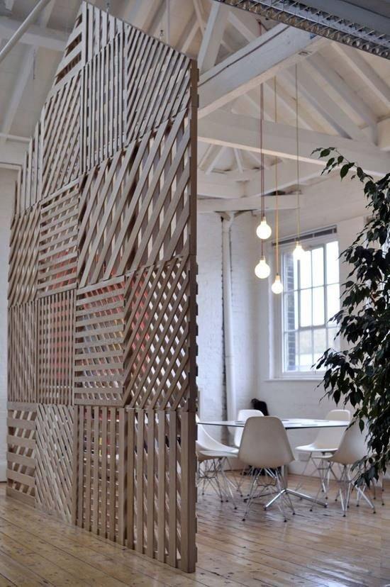 Фотография: Офис в стиле Современный, Декор интерьера, Мебель и свет, Перегородки – фото на InMyRoom.ru