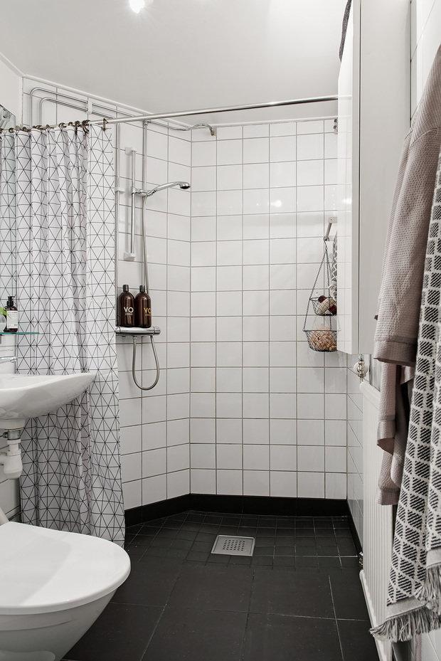 Фотография: Ванная в стиле Скандинавский, Декор интерьера, Квартира, Швеция, 2 комнаты, 40-60 метров, Alvhem – фото на InMyRoom.ru