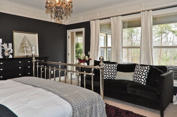 Фотография: Спальня в стиле Эклектика, Декор интерьера, Дизайн интерьера, Цвет в интерьере – фото на InMyRoom.ru