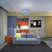 Фото из портфолио однушечка 2 – фотографии дизайна интерьеров на INMYROOM