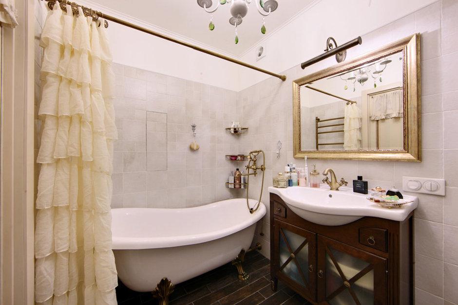 Фотография: Ванная в стиле Прованс и Кантри, Квартира, Дома и квартиры, IKEA, Проект недели – фото на InMyRoom.ru