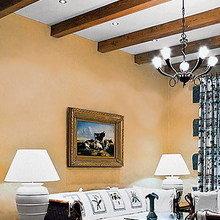 Фотография: Гостиная в стиле Кантри, Декор интерьера, Декор дома, Декоративная штукатурка – фото на InMyRoom.ru