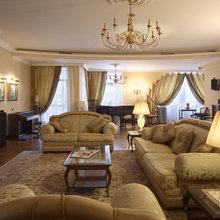 Фотография: Гостиная в стиле Кантри, Классический, Современный, Квартира, Дома и квартиры, Модерн, Ар-нуво – фото на InMyRoom.ru