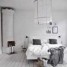 Фотография: Спальня в стиле Скандинавский, Дизайн интерьера – фото на InMyRoom.ru