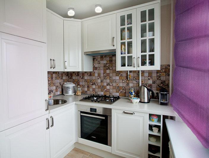 Фотография: Кухня и столовая в стиле Скандинавский, Современный, Малогабаритная квартира, Квартира, Дома и квартиры, IKEA, Переделка – фото на InMyRoom.ru