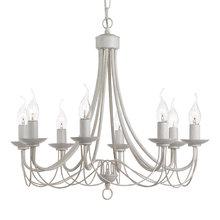 Подвесная люстра Arte Lamp Maypole выполнена в виде свечей с подсвечниками