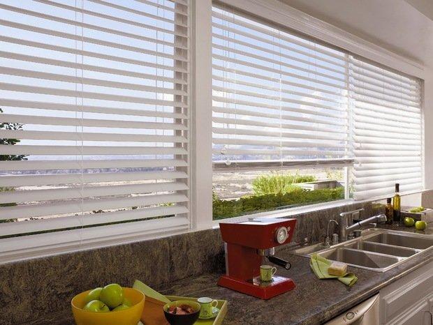 Фотография: Архитектура в стиле , Квартира, Декор, Советы, как выбрать жалюзи, жалюзи на окна – фото на InMyRoom.ru