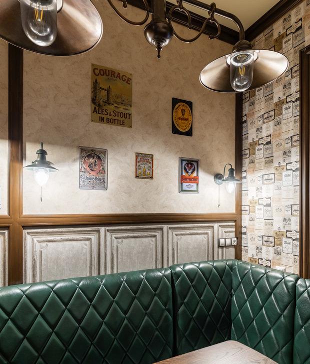 Фото из портфолио Кухня в стиле английского паба – фотографии дизайна интерьеров на INMYROOM