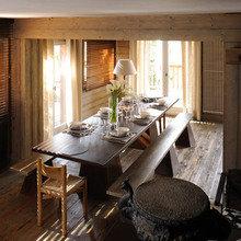 Фотография: Кухня и столовая в стиле Кантри, Дом, Дома и квартиры, Эко, Шале – фото на InMyRoom.ru
