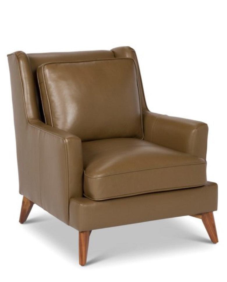 Кресло Gloss в итальянской коже