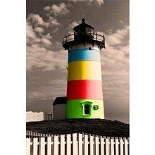 Стильный диптих: Цветной маяк
