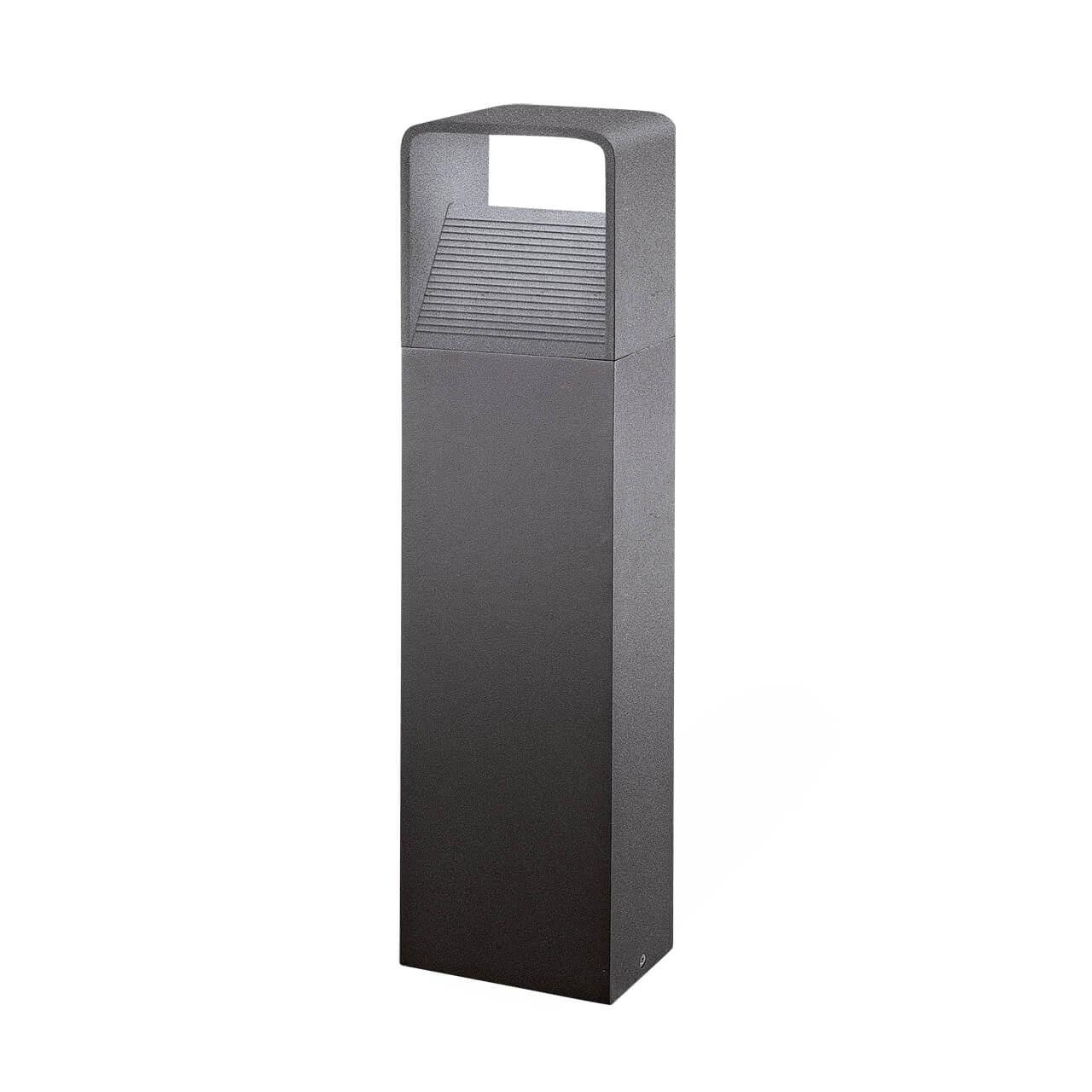 Уличный светодиодный светильник Doninni черного цвета