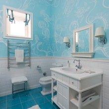 Фотография: Ванная в стиле Кантри, Дом, Дома и квартиры – фото на InMyRoom.ru