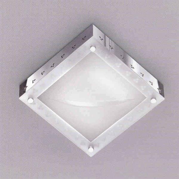 Купить Настенный/потолочный светильник Zonca с матовым белым стеклом, inmyroom, Италия