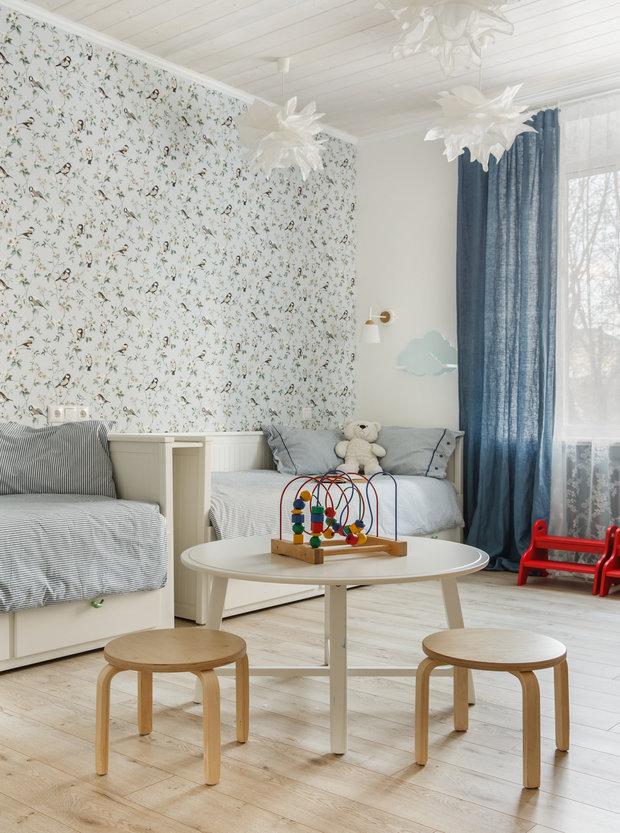 Фотография: Детская в стиле Прованс и Кантри, Квартира, Проект недели, Москва, 3 комнаты, 60-90 метров – фото на INMYROOM