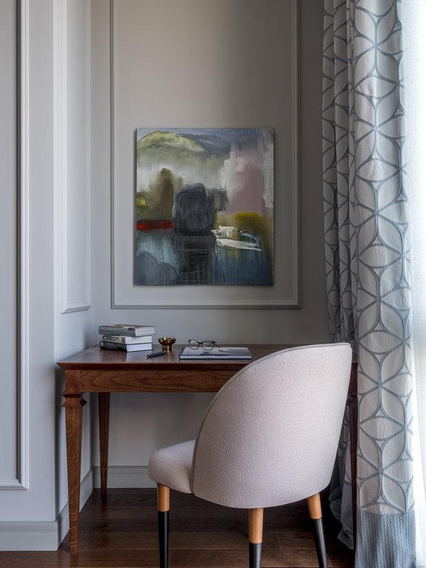 Фотография: Кабинет в стиле Современный, Квартира, Проект недели, Москва, 4 и больше, Более 90 метров, Anddesign – фото на INMYROOM