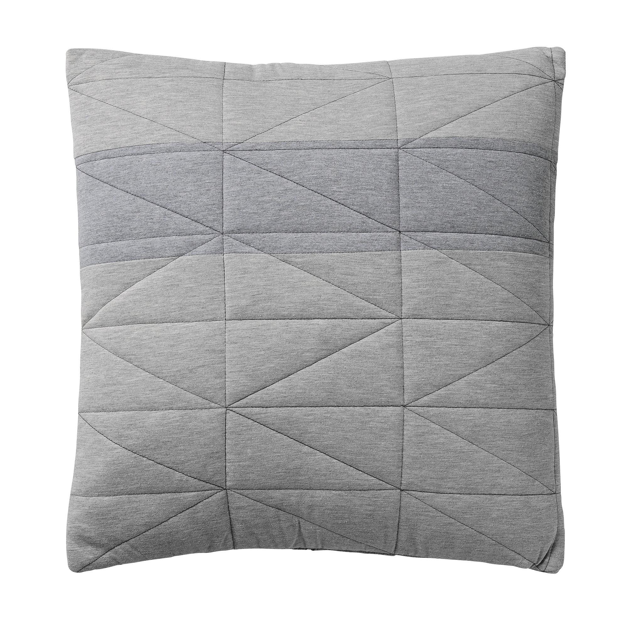 Купить со скидкой Декоративная подушка Diamond Grey серого цвета