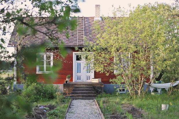 Фотография: Архитектура в стиле , Декор интерьера, Дом, Швеция, Дача, Розовый, как оформить летний дом – фото на INMYROOM