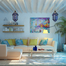 Фото из портфолио Для ценителей средиземноморского колорита...  – фотографии дизайна интерьеров на INMYROOM