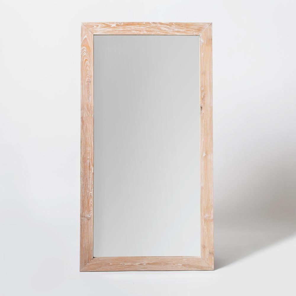 Напольное зеркало Teak&Amp;Water White Wash , inmyroom, Индонезия  - Купить