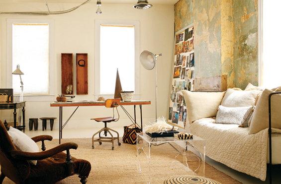 Фотография: Кабинет в стиле Прованс и Кантри, Эклектика, Кухня и столовая, Квартира, Дома и квартиры – фото на INMYROOM
