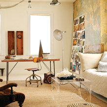 Фотография: Кабинет в стиле Кантри, Эклектика, Кухня и столовая, Квартира, Дома и квартиры – фото на InMyRoom.ru