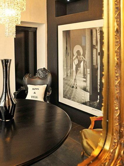 Фотография: Мебель и свет в стиле Эклектика, Дом, Дома и квартиры – фото на INMYROOM