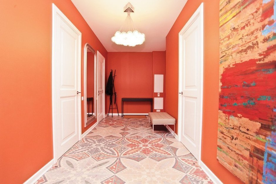 Фотография: Прихожая в стиле Современный, Скандинавский, Квартира, Дома и квартиры, Проект недели – фото на InMyRoom.ru