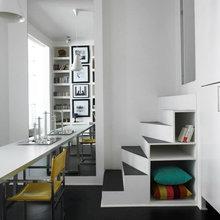 Фотография:  в стиле Современный, Квартира, Цвет в интерьере, Дома и квартиры, Белый – фото на InMyRoom.ru