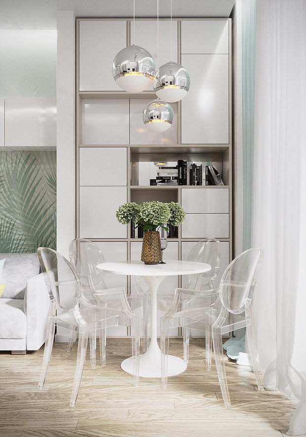 Фотография: Кухня и столовая в стиле Современный, Советы, дизайн-хаки – фото на INMYROOM