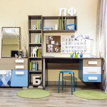 Фото из портфолио Рабочее место школьника – фотографии дизайна интерьеров на InMyRoom.ru