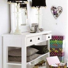 Фотография: Мебель и свет в стиле Восточный, Спальня, Интерьер комнат, Советы – фото на InMyRoom.ru