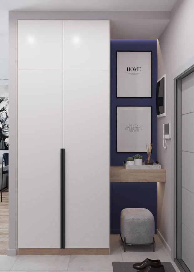 Фотография: Прихожая в стиле Современный, Квартира, Проект недели, Москва, 2 комнаты, 40-60 метров, Deus of House – фото на INMYROOM