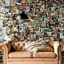 Фотография: Декор в стиле Кантри, Лофт, Декор интерьера, Квартира, Аксессуары, Советы, чем украсить пустую стену, идеи декора пустой стены – фото на InMyRoom.ru
