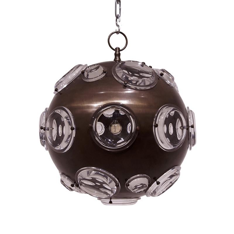 Купить Подвесной светильник Van Roon Antaris из металла коричневого цвета, inmyroom, Нидерланды
