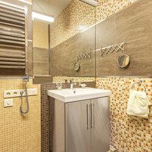 Фото из портфолио Мебель для ванных из нержавеющей стали – фотографии дизайна интерьеров на InMyRoom.ru