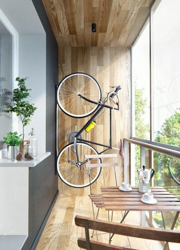 Фотография: Балкон в стиле Лофт, Квартира, Декор, Советы, как обустроить маленький балкон, идеи для маленького балкона, декор балкона – фото на INMYROOM