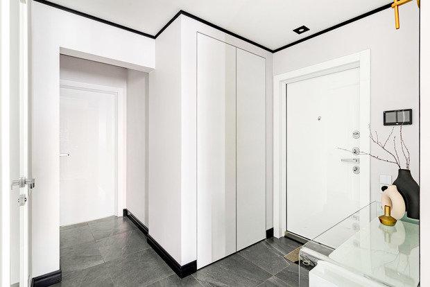 Фотография: Прихожая в стиле Современный, Квартира, Проект недели, Москва, 3 комнаты, 40-60 метров, Юлия Левина – фото на INMYROOM