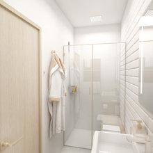Фото из портфолио Квартира в скандинавском стиле – фотографии дизайна интерьеров на INMYROOM