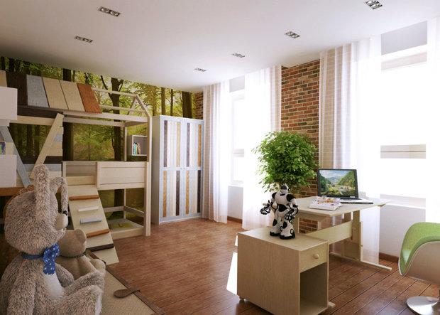 Фото из портфолио Загородный дом в Подмосковье. – фотографии дизайна интерьеров на INMYROOM