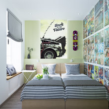 Фото из портфолио Хостел на Стремянной – фотографии дизайна интерьеров на INMYROOM